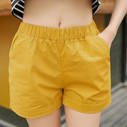 Quần shorts nữ kiểu dáng dễ thương chất liệu siêu đẹp thoáng mát 166 - 91166 giá sỉ