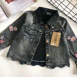 Áo khoác jeans bé gái nhí - AKG0298120 giá sỉ