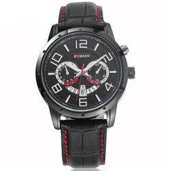 Đồng hồ nam dây da có lịch ngày sang chảnh-215 - 97215 giá sỉ
