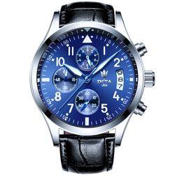 Đồng hồ nam có lịch ngày phong cách nhẹ nhàng lôi cuống-207 - 97207 giá sỉ