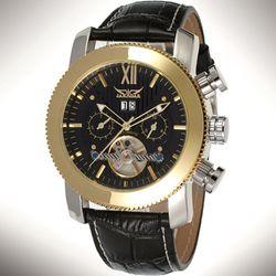 Đồng hồ cơ nam tính mặt găng cưa dây da xịn mai chỉ nổi-186 - 97186 giá sỉ