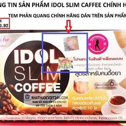 idol slim cafe Thái lan giá sỉ