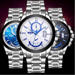 Đồng hồ nam có lịch ngày phong cách lịch lãm-200 - 97200 giá sỉ