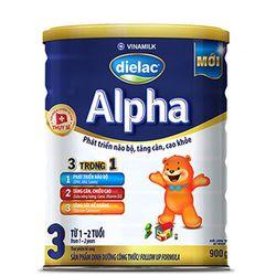 Sữa bột Dielac Alpha 3 900 giá sỉ
