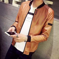 áo khoác da nam phong cách hàn quốc giá sỉ