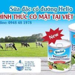 Sữa đặc Helio lon 1kg giá sỉ