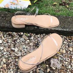 giày sandal quai mảnh trong siêu xinh giá sỉ