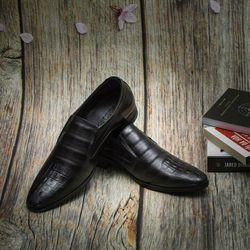 giày tây nam - giày giày dây chất da bò 100