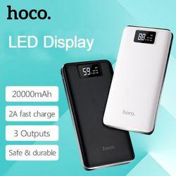 Hoco - Pin sạc dự phòng B23B - dung lượng 20000mAh - 3 cổng USB có LCD giá sỉ
