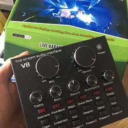 v8 sound card