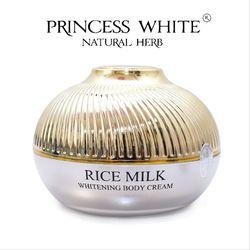 Kem dưỡng thể Sữa Gạo Princess White Hộp 200g