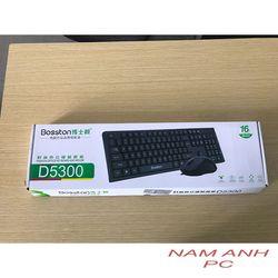 Bộ bàn phím và chuột văn phòng Bosston D5300 giá sỉ