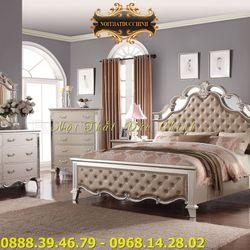 Giường ngủ cổ điển giá rẻ tại Bình Dương - Mua giường ngủ tân cổ điển đẹp ở TPHCM giá sỉ, giá bán buôn
