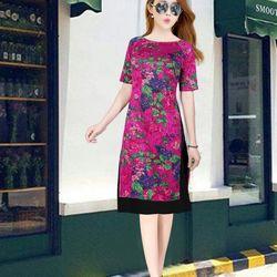 ÁO DÀI CÁCH TÂN GẤM phối váy giá sỉ