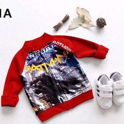 áo khoác 3D Batman nhí order 25n - AKT0178085 giá sỉ