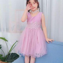 Đầm voan xinh xắn cho bé yêu giá sỉ, giá bán buôn