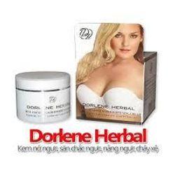Kem nở ngực Dorlene Herbal giúp bộ ngực căng tròn săn chắc giá sỉ