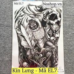 Hình Xăm Dán Tattoo - Kín Lưng Full Lưng giá sỉ