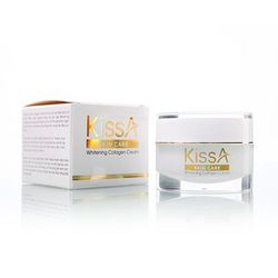 Kem dưỡng trắng da collagen Kissa