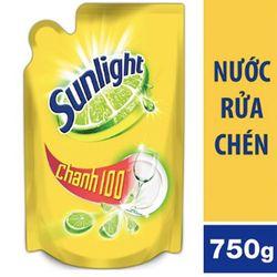 sunlight nước rửa chén túi chanh 750g giá sỉ