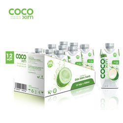 Nước dừa nguyên chất và vị trái cây Cocoxim 330ml - Thùng 12 hộp giá sỉ