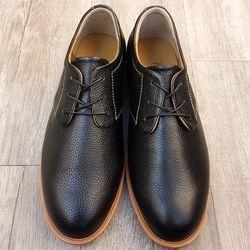 Giày da nam Derby Hansamu - NG da trơn 3 lỗ HSP03 giá sỉ