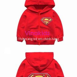Áo khoác bé trai kim cương màu đỏ size đại giá sỉ