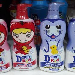 Sữa tắm tạo bọt Dnee 400ml cho trẻ trên 3 tuổi giá sỉ