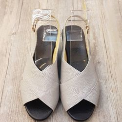 Sandal nữ cao gót Kirei - KT đế xuồng 5p quai chéo D185SC giá sỉ