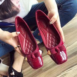 giày bup bê nữ chất da giá sỉ