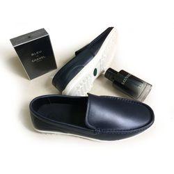 Giày lười nam da bò thật GM12 giá sỉ