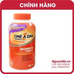 Viên uống One A Day Women's Formula Vitamins 300 viên của Mỹ