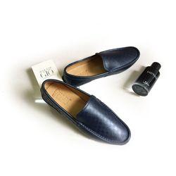 Giày lười da bò GM05 giá sỉ