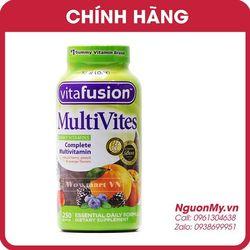 Kẹo bổ đa Vitamin cho người lớn vitafusion MultiVites Multivitamin 250 viên MỸ