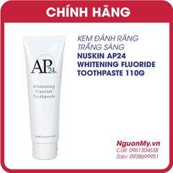 Kem đánh răng chống mảng bám AP- 24 Whitening Fluoride Toothpaste của Mỹ