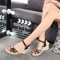Sandal đế xuồng phong cách hàn quốc - MSDX410 giá sỉ, giá bán buôn