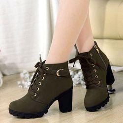 Giày boots nữ G1017