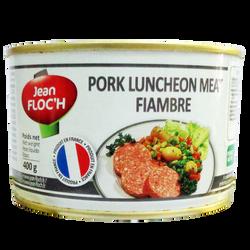 Pate Thịt Heo 400g pork luncheon meat hiệu Jean Floch - Pháp giá sỉ