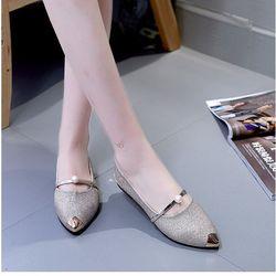 × Giày công sở búp bê đính hạt - MSB115