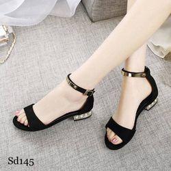 Sandal gót đính đá sang trọng - MSSD145