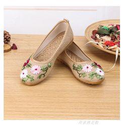 Giày Búp bê thêu hoa thủ công - MSB517