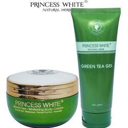 BỘ DƯỠNG TRẮNG DA BODY XANH GREEN TEA PRINCESS WHITE HỘP 200G