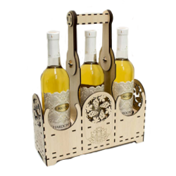 Hộp rượu vang trang trí jonnydecor q2 giá sỉ