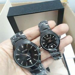 Đồng hồ kim loại cặp - RD giá sỉ