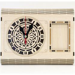 Đồng hồ để khung ảnh trang trí bàn văn phòng giá sỉ