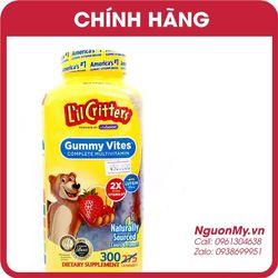 Kẹo dẻo bổ sung Vitamin L'il Critters Gummy Vites 300 viên