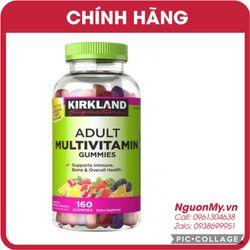 Kẹo dẻo Adult Multivitamin Gummies 160 viên của Mỹ mẫu mời hạn dùng 9/2019