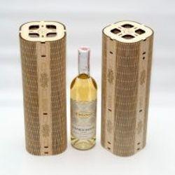 Hộp rượu vang trang trí jonnydecor c2 giá sỉ