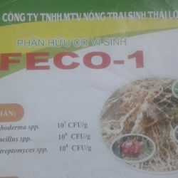 Phân hữu cơ vi sinh FECO1 giá sỉ