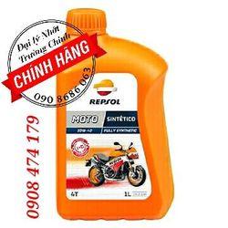 Dầu nhớt xe máy xe số mô tô Repsol Moto Sintetico 4T 10W40 giá sỉ